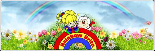 Rainbow brite banner by No10x