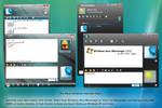 Windows Aero Messenger