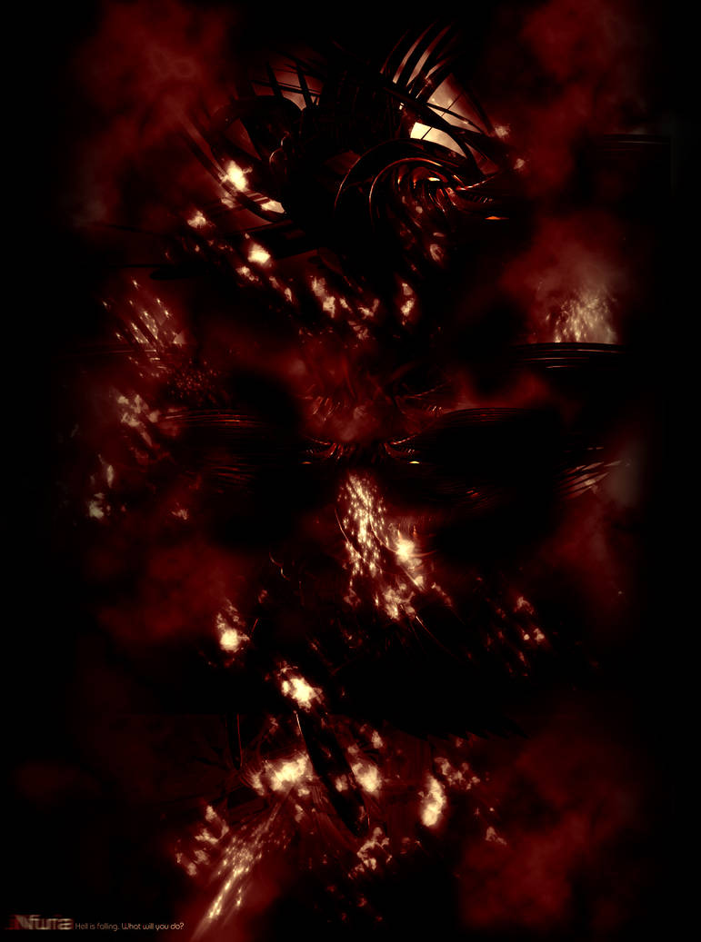 _infuria.Hell_is_falling by Synaesthesia-