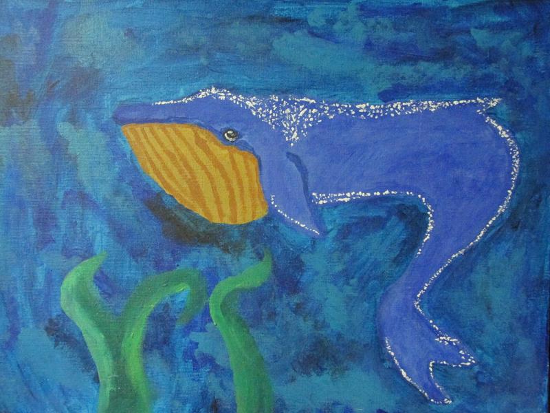 Blue Whale Kelp by Rubygem14