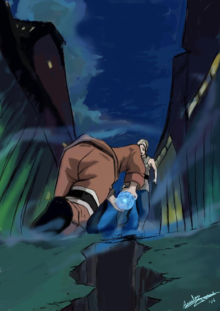 Naruto:Rasengan by anneleen