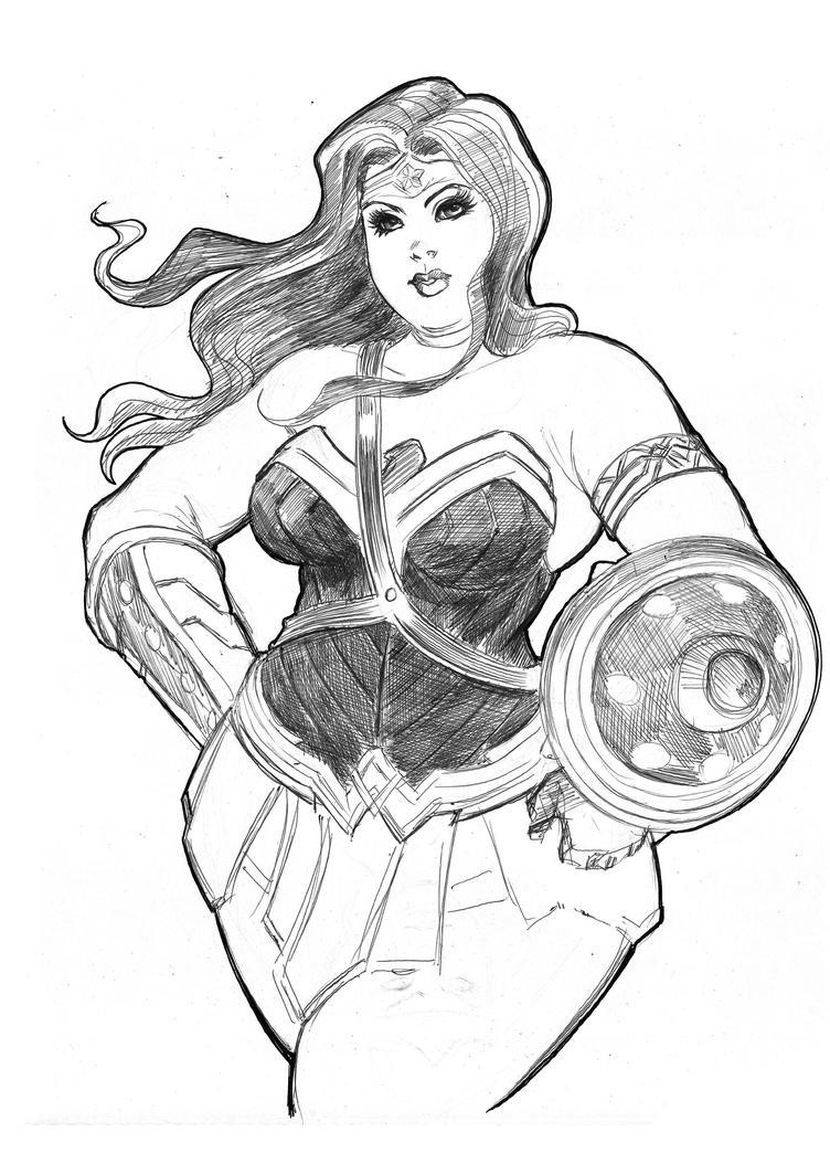 Wonder Woman by rllas