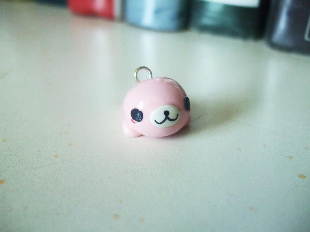 pink mamegoma charm by number1fmafangirl on deviantart
