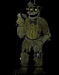 Phantom Freddy FullBody Fanart