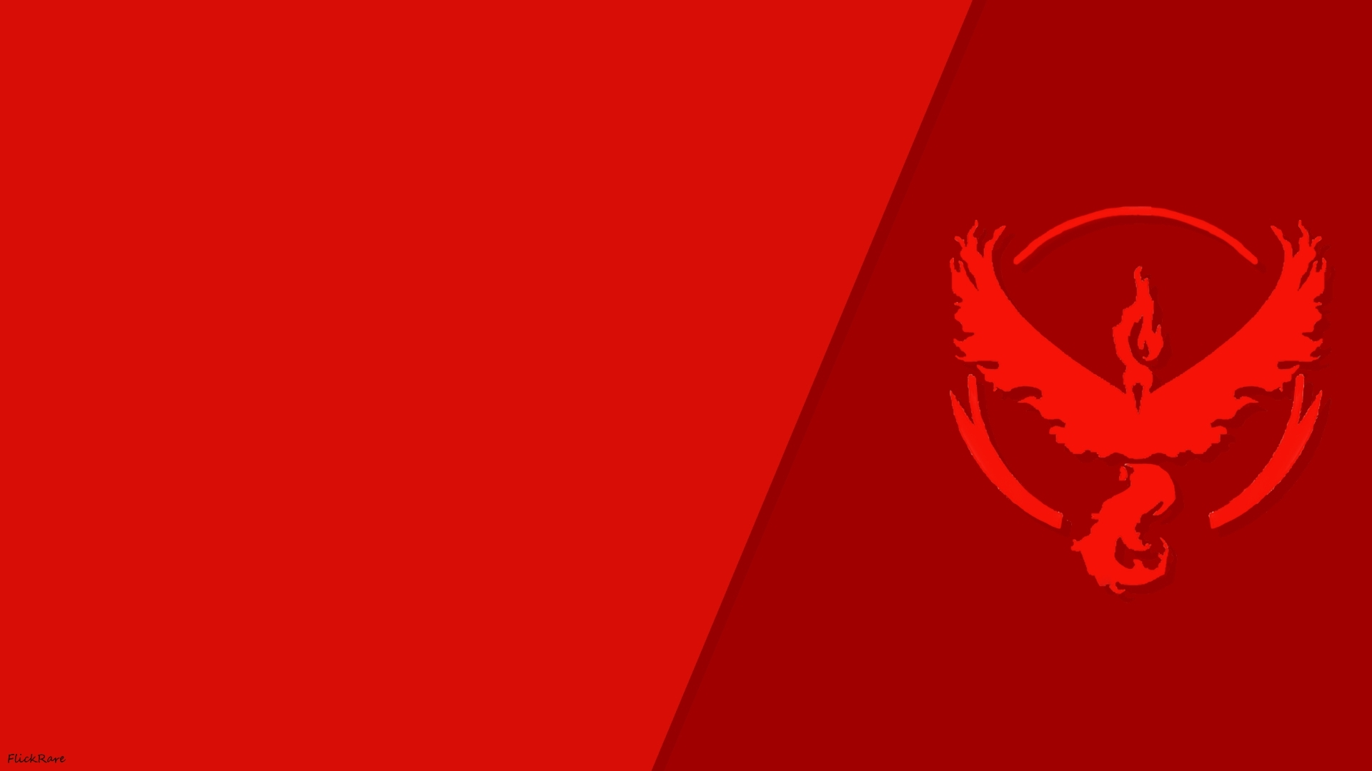 Pokemon Go Simple Team Valor Wallpaper By FlickRare On