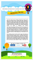 Mizuni: Email Template by jcroxas
