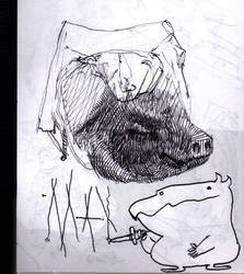 max and the pig
