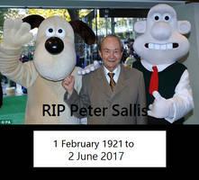 RIP Peter Sallis AKA the voice of wallace