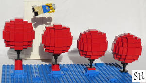 LEGO Wipeout: The Big Red Balls