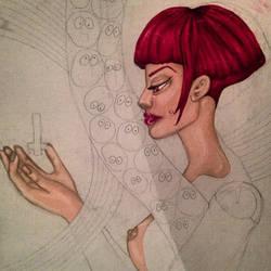 oil on canvas by AngelinaJinny
