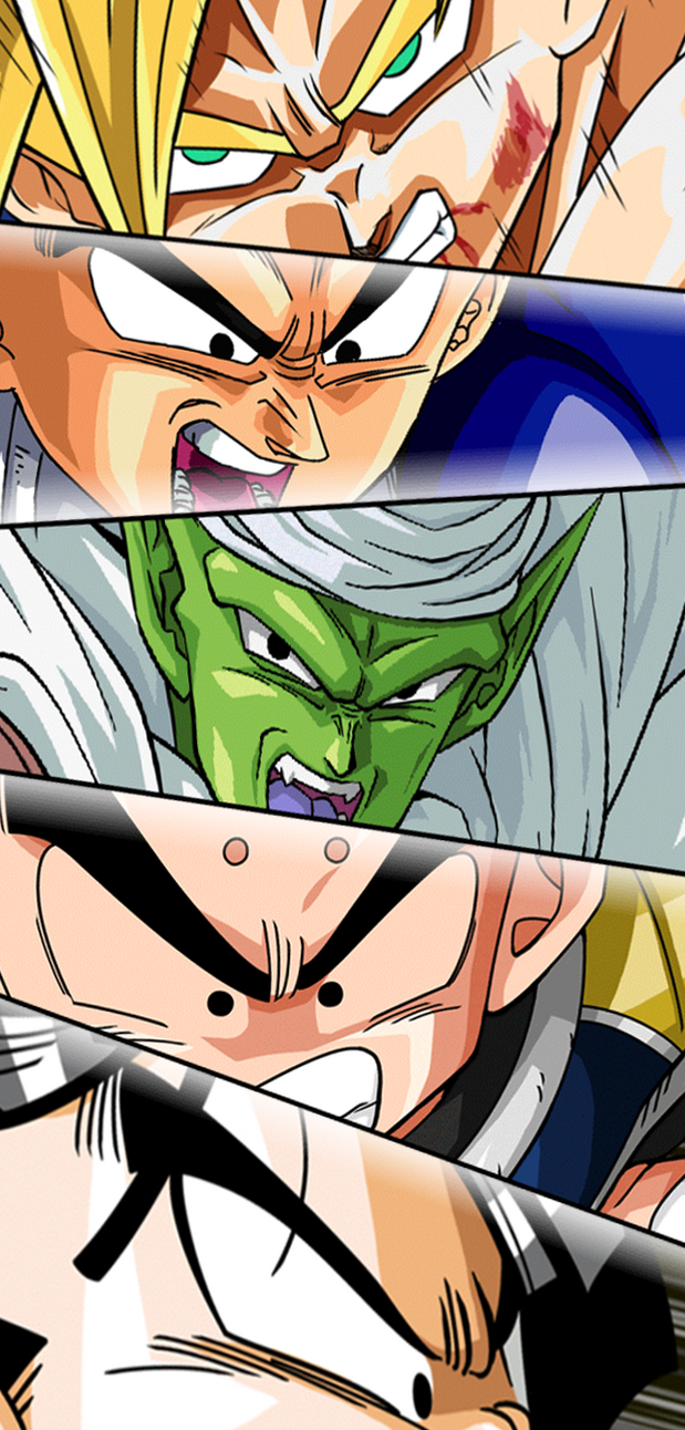Z-Fighters (Frieza Saga) by SUF-Liquid-Snake