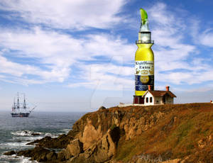 Lighthouse beer