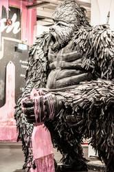 Gorilla street art