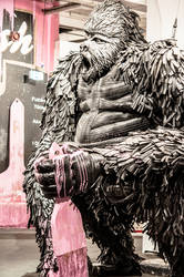 Gorilla street art by obsidianart2