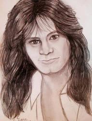 Eddie Van Halen by manonelert