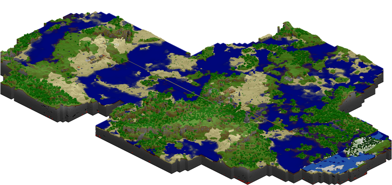 Minecraft - My World Map by th3-rav3n on DeviantArt