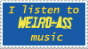 Music taste stamp by thedmblonde