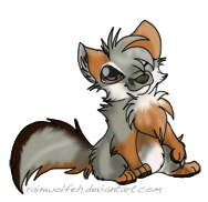 Island Fox :D by rainwolfeh
