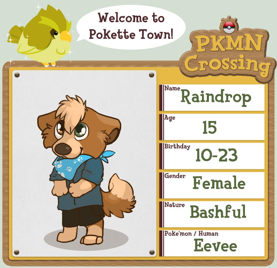 Raindrop | PKMC Application by rainwolfeh