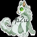 P2U Cat Sprite by rainwolfeh