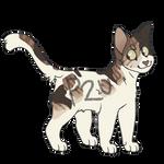 P2U Lineart - Cat Adoptable