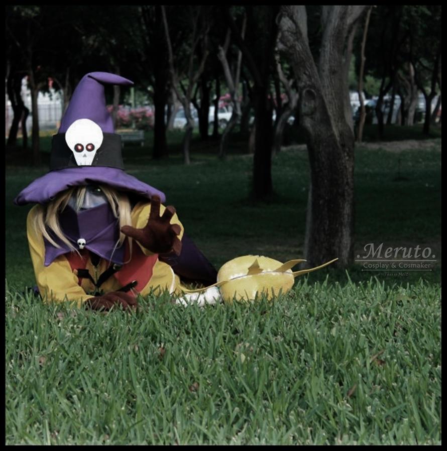 Sadness Wizardmon Cosplay by MerutoCosplayWizardmon Cosplay