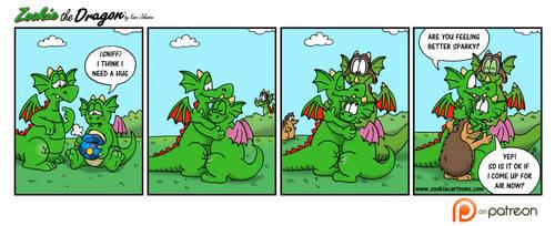 Dragon Hugs by ZookieDragon