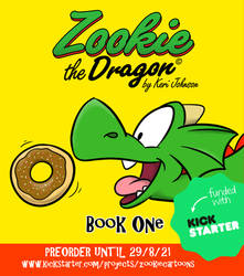 Pre-order Zookie the Dragon: Book One!