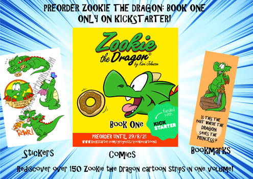 Zookie the Dragon: Book One (Advert)