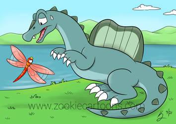 Comm: Ridgeback the Spinosaurus