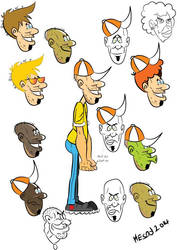 my caricature style by mesod