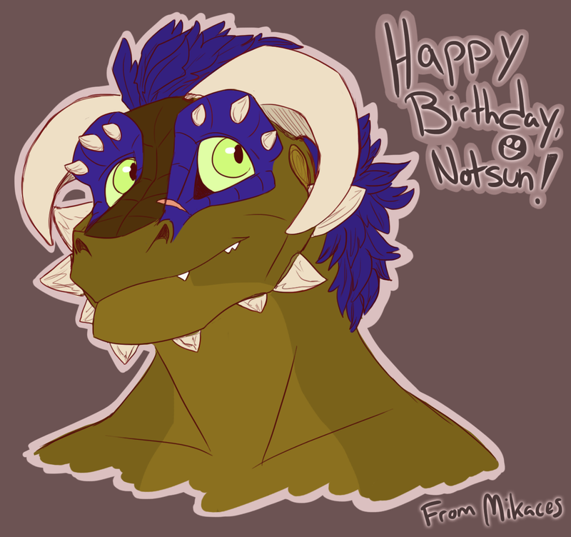 Happy Birthday, Notsun by Mikaces