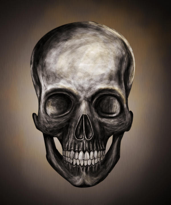 Skull Painting Tumblr
