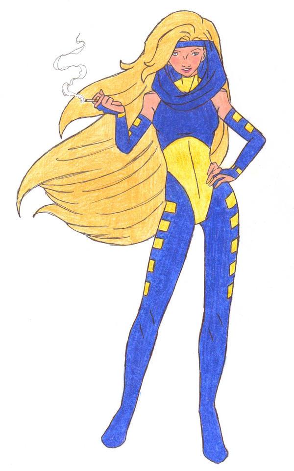 X-Men: AOA - Dazzler by Saphari on DeviantArt
