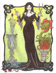Addams Family 2011: Morticia
