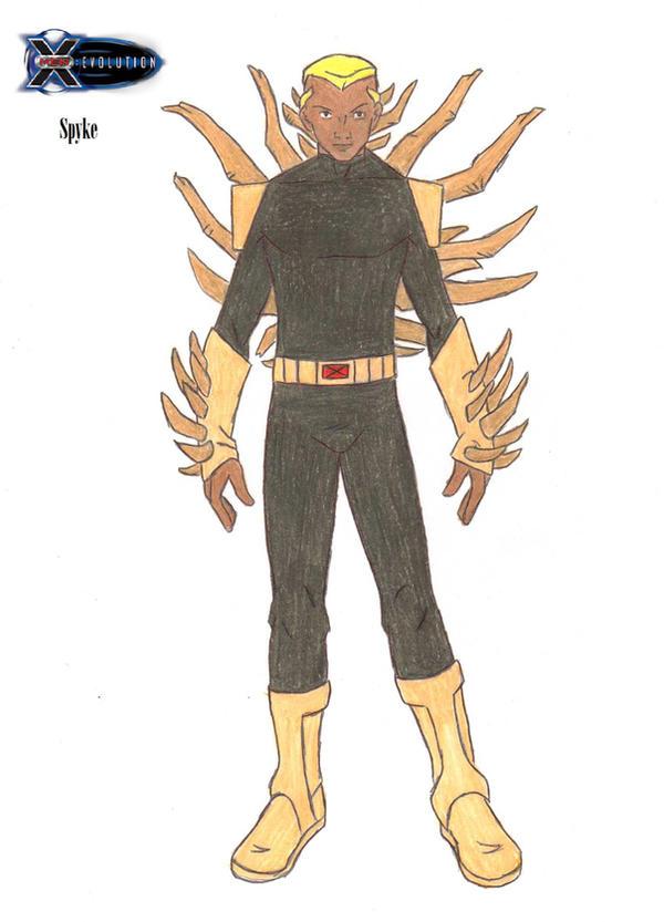 X Men Evolution Future Spike X-Men Evolution: Spyke...