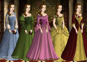 Tudor Scene Maker: Belle's Dresses by Saphari