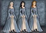 Tudor Scene Maker Gargoyles: The Weird Sisters by Saphari