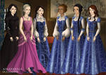 Tudor Scene Maker: Wicked 'Shiz Girls'