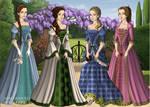 Tudor Scene Maker: WoOz -Princesses of Oz-