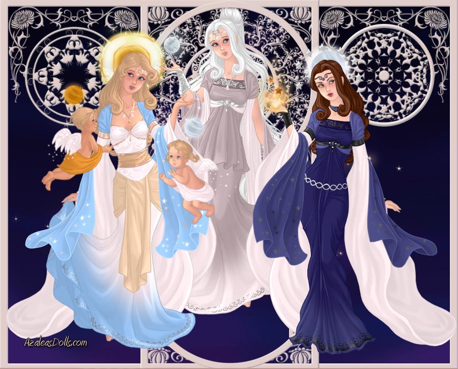 Artemis Greek Goddess Symbol GoddessMaker: Titaness...