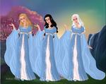 GoddessMaker: Gargoyles - The Weird Sisters by Saphari