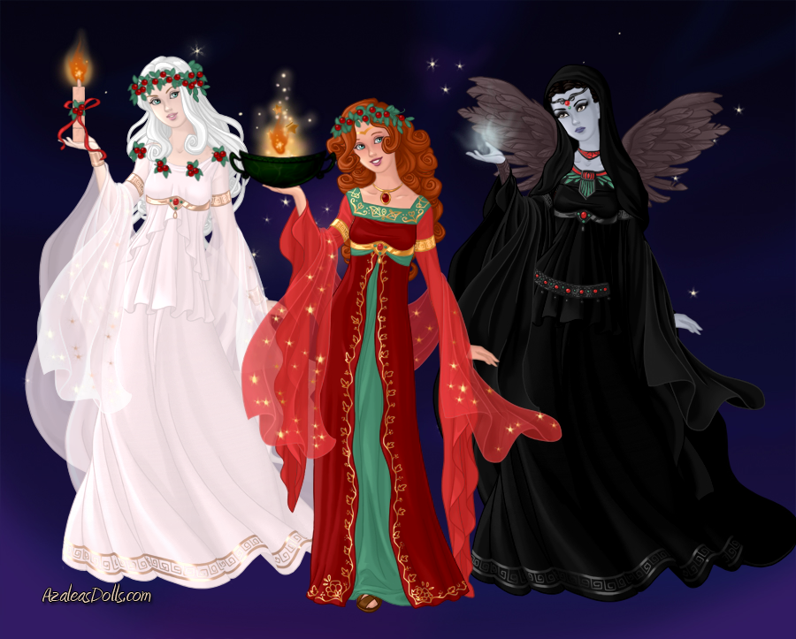 Ghosts of Christmas Past, Present and Yet To Come by Saphari on DeviantArt