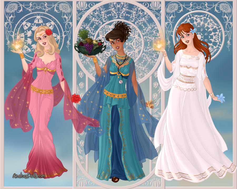 Goddess Who Companions 1: Rose, Martha and Donna by Saphari