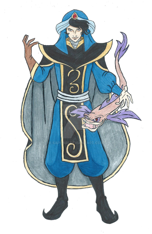 Halloween 2014: Disney Villains: Mozenrath by Saphari