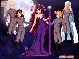 Sailor Senshi Maker 2015: Dark Kingdom by Saphari