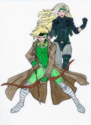 lurch jr's Cajun Arrow and Black Rogue by Saphari