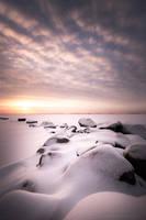 Frozen beach by Jscenery