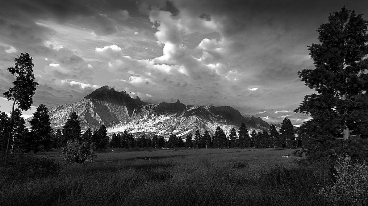 Mountain View by Jscenery