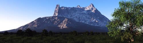 Crown Mountain by Jscenery